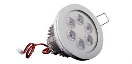Eyedown LED- recessed luminary