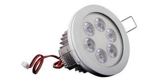 Eyedown LED- recessed luminary