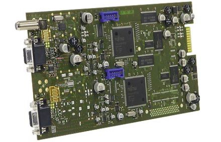 DVB-S into AV, twin module