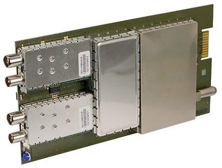 DVB-T2 into DVB-C, twin module