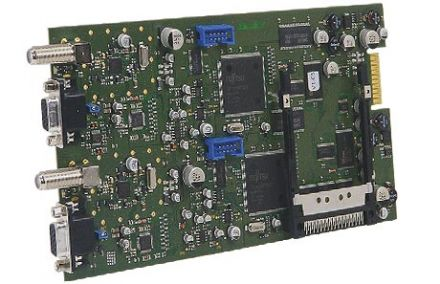 DVB-T into AV, twin module