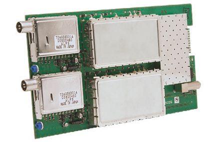 DVB-T into DVB-T, channel converter, twin version