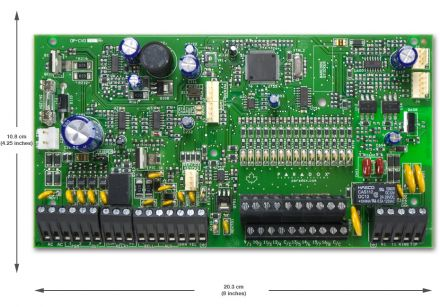 Expandable to 32-Zone Control Panel SP7000