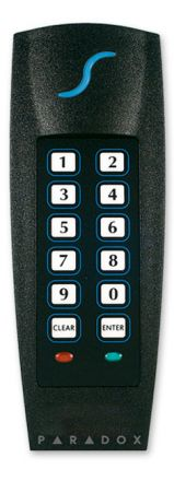 Indoor/Outdoor Proximity Reader and Keypad, Stand-alone Version R885S
