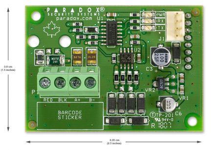 Plug-In RS485 Converter CVT485
