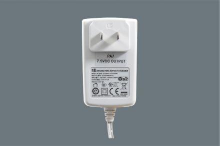 7.5 Vdc Power Adapter Plug PA7