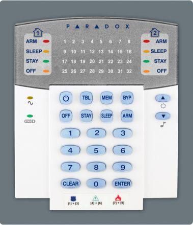 32-Zone Hardwired LED Keypad Module K32