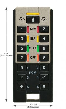 Hand-Held Two-Way Remote Keypad REM3