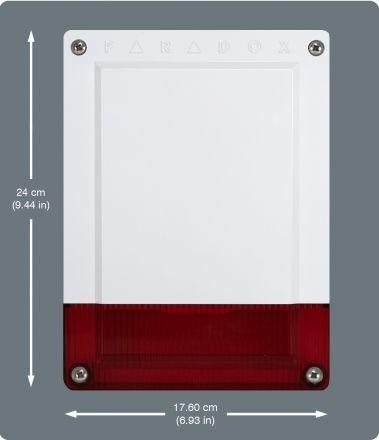 Wireless Siren with Built-in Strobe SR150