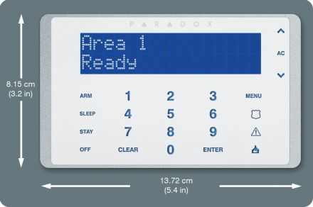Touch Sense Keypad K656