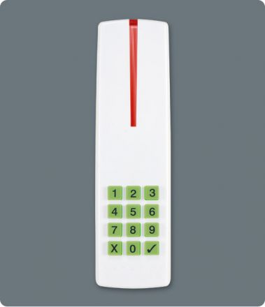 4-Wire Sealed Indoor/Outdoor Proximity Reader and Keypad R915